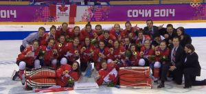 Women will hockey gold